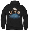 Battlestar Galactica pull-over hoodie Classic Three Classic adult black