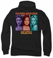 Battlestar Galactica pull-over hoodie Colonial Babes Classic adult black
