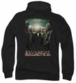 Battlestar Galactica pull-over hoodie Crossroads adult black