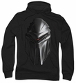 Battlestar Galactica pull-over hoodie Cylon Head adult black