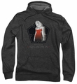 Battlestar Galactica pull-over hoodie Cylon Tech adult charcoal