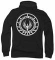 Battlestar Galactica pull-over hoodie Galactica Badge adult black