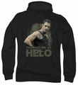 Battlestar Galactica pull-over hoodie Had Me At Helo adult black