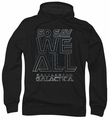 Battlestar Galactica pull-over hoodie Together Now adult black