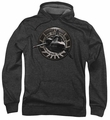 Battlestar Galactica pull-over hoodie Viper Squadron adult charcoal