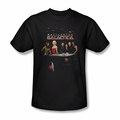Battlestar Galactica t-shirt Destiny mens black