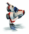Battlestar Galactica Viper Mkii Sd Model Kit pre-order