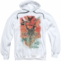 Batwoman pull-over hoodie New 52 #1 adult white