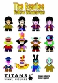 Beatles Yellow Submarine Titans 20-Piece Blind Mystery Box Display pre-order