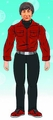 Big Bang Theory Howard Red Shirt 8-Inch Action Figure pre-order