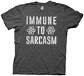 Big Bang Theory Immune to Sarcasm mens t-shirt