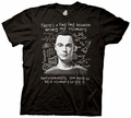 Big Bang Theory Visionary Sheldons Face mens t-shirt pre-order