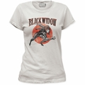 Black Widow t-shirt Widow Run juniors vintage white pre-order