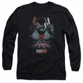 Bloodshot adult long-sleeved shirt Blood Lines black