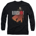 Bloodshot adult long-sleeved shirt Taking Aim black