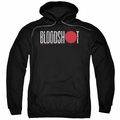 Bloodshot pull-over hoodie Logo adult black