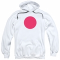 Bloodshot pull-over hoodie Spot adult white