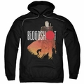 Bloodshot pull-over hoodie Taking Aim adult black