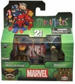Brood Wolverine and Brood Marvel Minimates Series 47