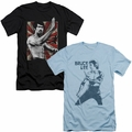 Bruce Lee mens slim fit t-shirts