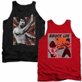 Bruce Lee mens tank tops