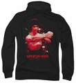 Bruce Lee pull-over hoodie The Shattering Fist adult black