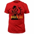 Bruce Lee t-shirt hi YAH Soft Fitted 30/1 mens red pre-order