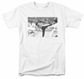 Bruce Lee t-shirt Kick To The Head mens white