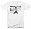 Bruce Lee t-shirt Triumphant mens white