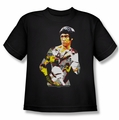 Bruce Lee youth t-shirt Body Of Action black