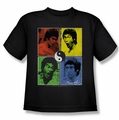 Bruce Lee youth t-shirt Enter Color Block black