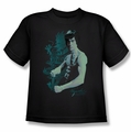 Bruce Lee youth t-shirt Feel black