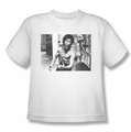 Bruce Lee youth t-shirt Full of Fury white