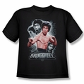 Bruce Lee youth t-shirt Inner Fury black