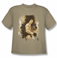 Bruce Lee youth t-shirt Intensity sand