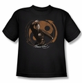 Bruce Lee youth t-shirt Jeet Kun Do Pose black