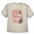 Bruce Lee youth t-shirt Power Of The Dragon cream