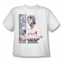 Bruce Lee youth t-shirt Revving Up white