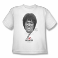 Bruce Lee youth t-shirt Self Help white