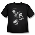 Bruce Lee youth t-shirt Sounds of The Dragon black