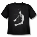 Bruce Lee youth t-shirt Stance black