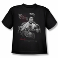 Bruce Lee youth t-shirt The Dragon black