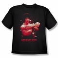 Bruce Lee youth t-shirt The Shattering Fist black