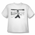 Bruce Lee youth t-shirt Triumphant white