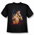 Bruce Lee youth t-shirt Yellow Jumpsuit black