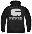 Caprica pull-over hoodie Graystone Industries adult black
