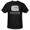 Caprica t-shirt Graystone Industries mens black