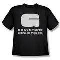 Caprica youth t-shirt Graystone Industries black