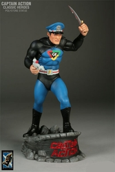 Captain Action Statue