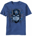 Captain America Candy Flake t-shirt men light navy pre-order